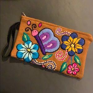 Handbags - Peruvian makeup bag / clutch